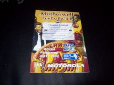 Motherwell v Dundee United, 2001/02